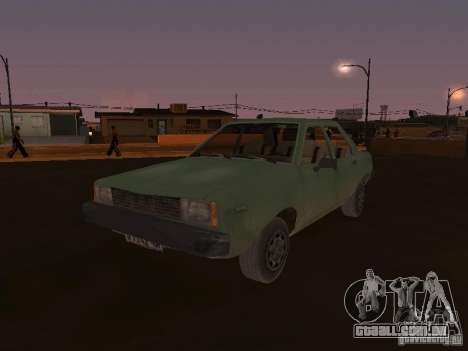 Máquina do CoD: MW para GTA San Andreas