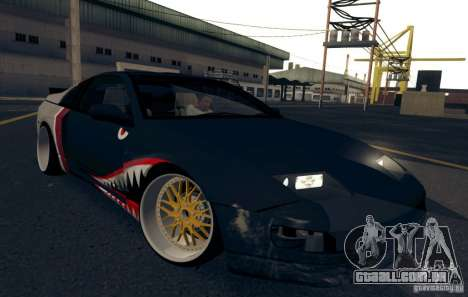 Nissan 300ZX Bad Shark para GTA San Andreas vista superior