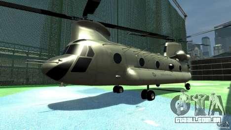 CH-47 para GTA 4 esquerda vista