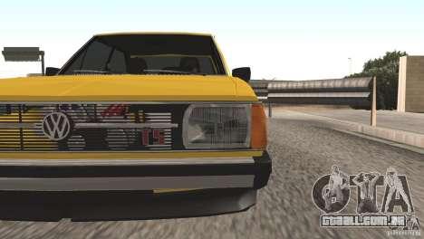 Volkswagen Passat TS 1981 Original para GTA San Andreas vista direita