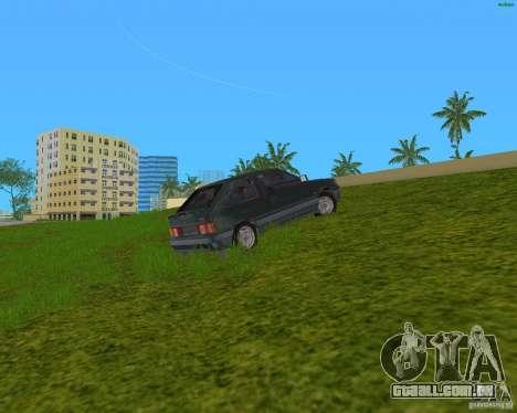 Lada Samara 3doors para GTA Vice City deixou vista