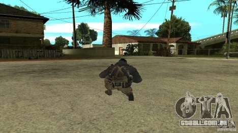 Soap para GTA San Andreas segunda tela