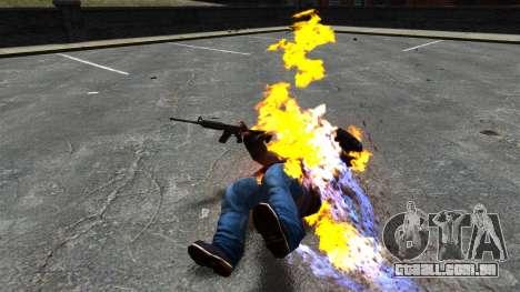 Balas de fogo para GTA 4 terceira tela