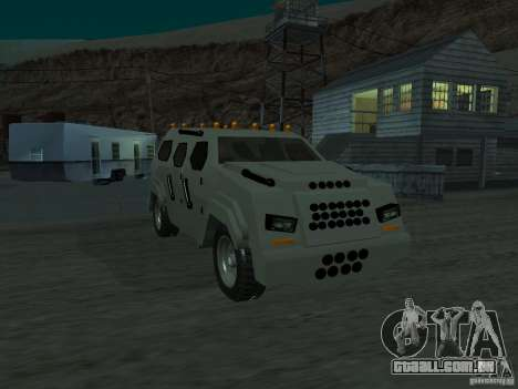 FBI Truck from Fast Five para GTA San Andreas