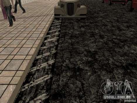 New roads in Las Venturas para GTA San Andreas quinto tela