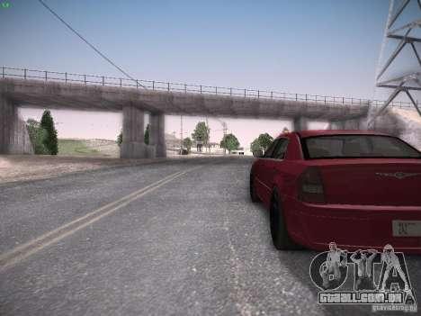 Chrysler 300C SRT8 para GTA San Andreas vista traseira