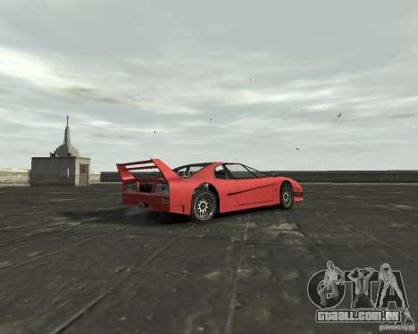 Turismo from GTA SA para GTA 4 vista direita