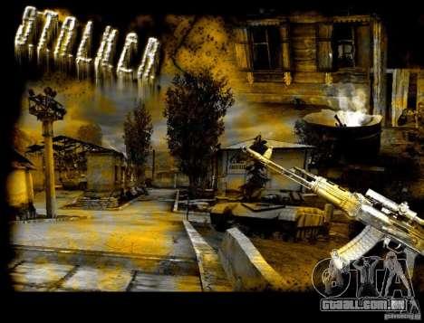 Nova tela de boot STALKER para GTA San Andreas