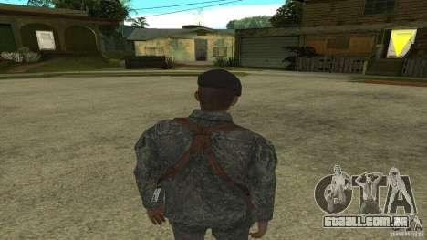 Shepard de CoD MW2 para GTA San Andreas terceira tela