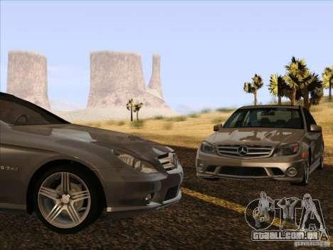 Mercedes-Benz CLS63 AMG para GTA San Andreas vista interior