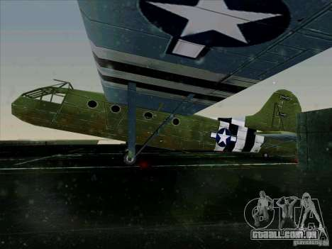 2 Linhas de aeronaves do jogo por trás do inimig para GTA San Andreas esquerda vista