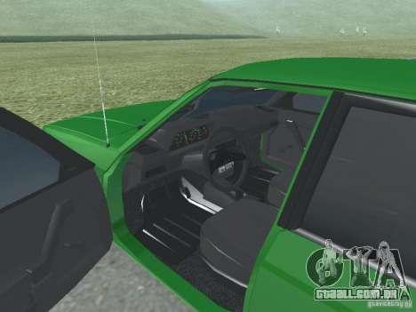 Moskvich 2141 para GTA San Andreas vista traseira