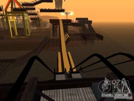 Huge MonsterTruck Track para GTA San Andreas nono tela