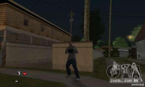 Beta v 0.1 de camisola Linkin Park para GTA San Andreas terceira tela