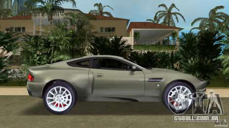 Aston Martin V12 Vanquish 6.0 i V12 48V para GTA Vice City deixou vista