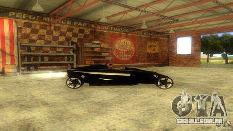 Lamborghini Concept para GTA San Andreas esquerda vista