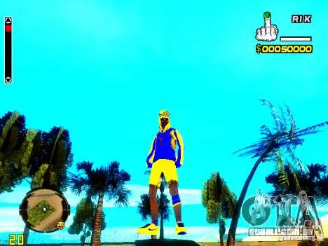 Pele vagabundo v2 para GTA San Andreas segunda tela
