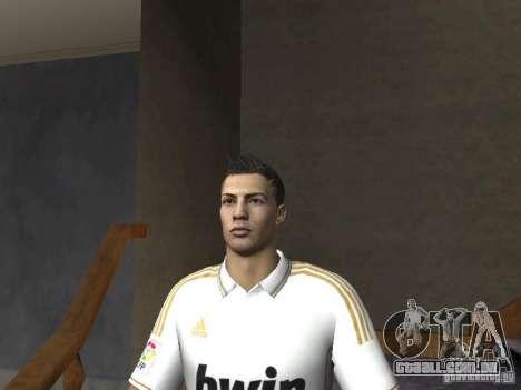 Cristiano Ronaldo para GTA San Andreas por diante tela