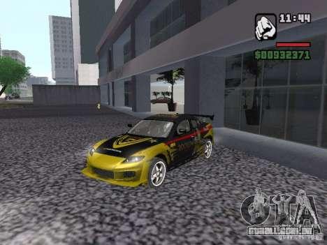 Mazda RX-8 Rockstar para GTA San Andreas