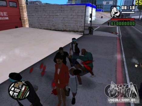 Você não pode bater as mulheres 2.0 para GTA San Andreas terceira tela