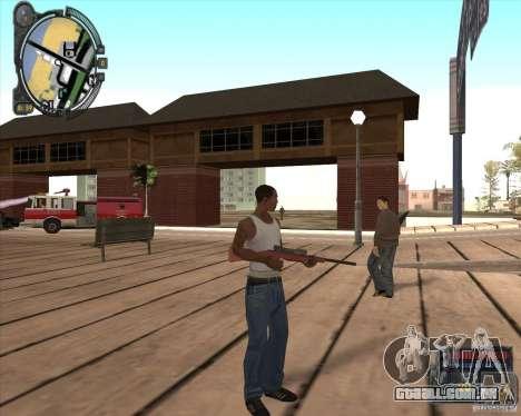 S.T.A.L.K.E.R. Call of Pripyat HUD for SA v1.0 para GTA San Andreas segunda tela
