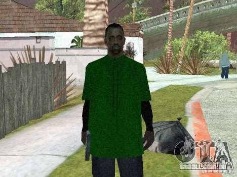 Novas skins a Grove Street Gang para GTA San Andreas segunda tela