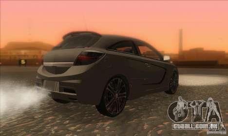 Opel Astra GTC DIM v1.0 para GTA San Andreas vista direita