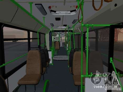 Autocarros 6222 para vista lateral GTA San Andreas
