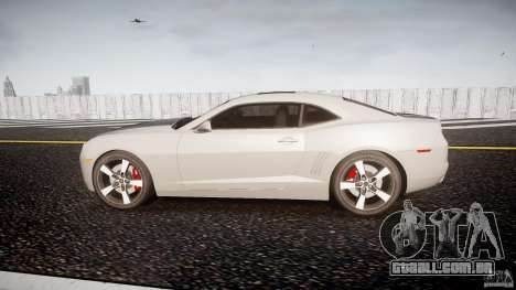 Chevrolet Camaro para GTA 4 esquerda vista