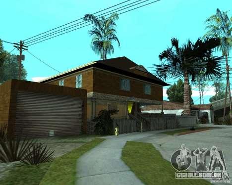 CJâ casa nova para GTA San Andreas segunda tela