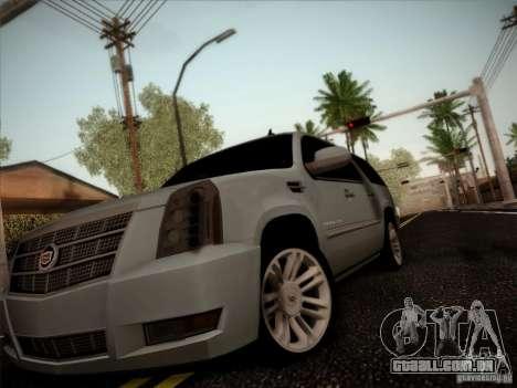 Cadillac Escalade ESV Platinum para GTA San Andreas