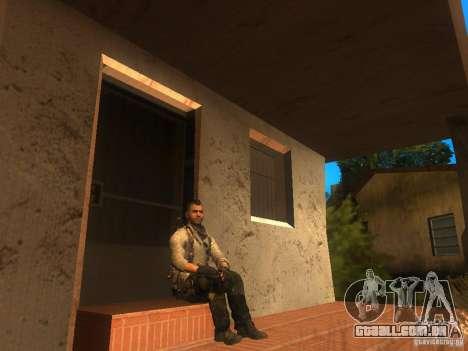 Animation Mod para GTA San Andreas segunda tela