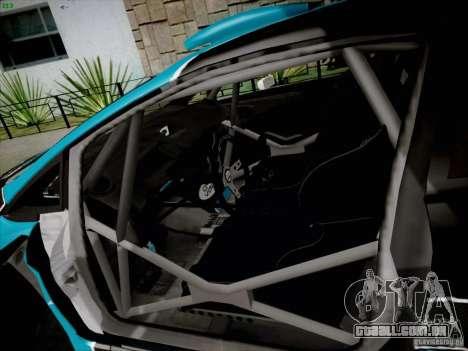 Ford Fiesta RS para GTA San Andreas vista traseira