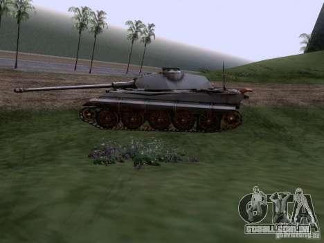 VII PZ II tigre tigre real VIB para GTA San Andreas esquerda vista