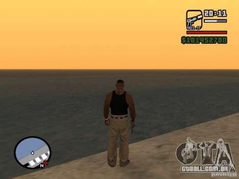 Saturn Mod para GTA San Andreas terceira tela