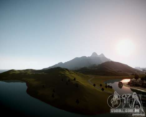 GhostPeakMountain para GTA 4