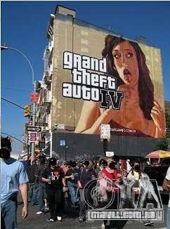 The real Poster Mod para GTA 4 quinto tela