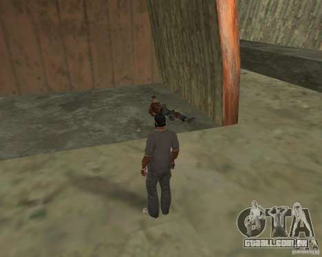 Barney sem-teto para GTA San Andreas sétima tela