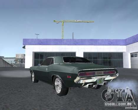 Dodge Challenger V1.0 para GTA San Andreas vista direita