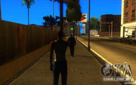 Grande visão para GTA San Andreas terceira tela