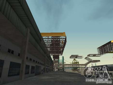 Huge MonsterTruck Track para GTA San Andreas quinto tela