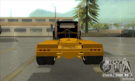 Mack R600 para GTA San Andreas vista traseira