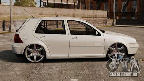 Volkswagen Golf Flash Edit para GTA 4 esquerda vista