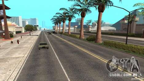 New HQ Roads para GTA San Andreas sexta tela