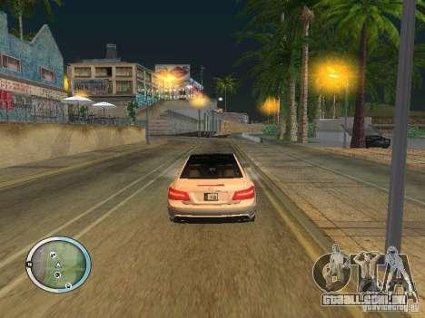 NEW GTA IV HUD 3 para GTA San Andreas por diante tela