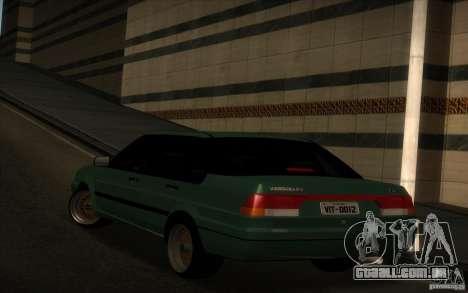 Ford Versailles 1992 para GTA San Andreas esquerda vista