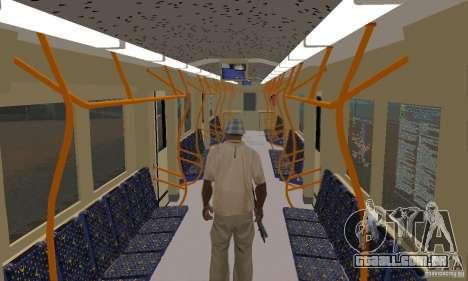 Metro 81-7021 para GTA San Andreas vista direita