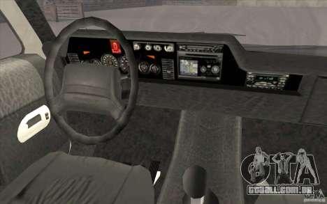 GTA3 HD Vehicles Tri-Pack III v.1.1 para GTA San Andreas interior