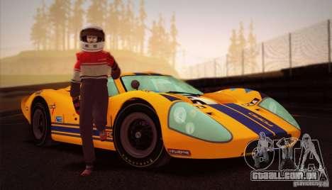 Ford GT40 MK IV 1967 para GTA San Andreas