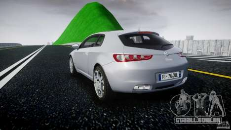 Alfa Romeo Brera Italia Independent 2009 para GTA 4 traseira esquerda vista